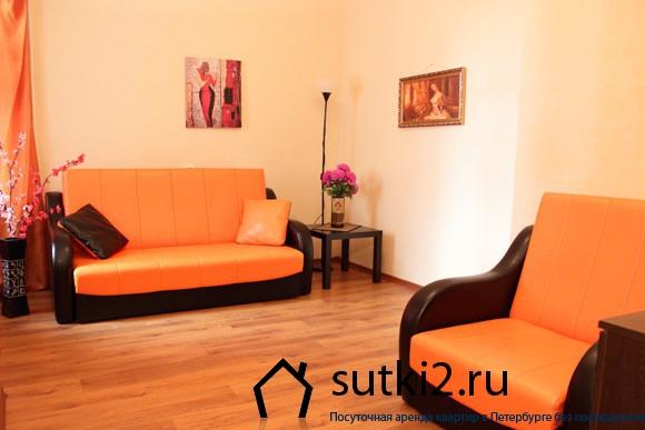 Стильная квартира-студия, расположенная по адресу Графтио, д.4