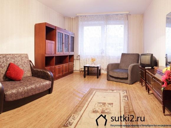 Квартира на пр. Просвешения от компании Sutki2