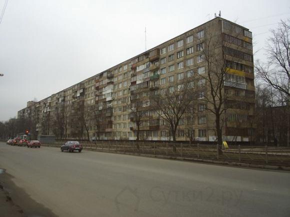 Однокомнатная квартира на сутки и более по адресу: ул. Белградская, д. 34