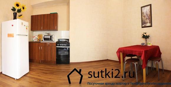 Квартира на Петроградской стороне от компании Sutki2